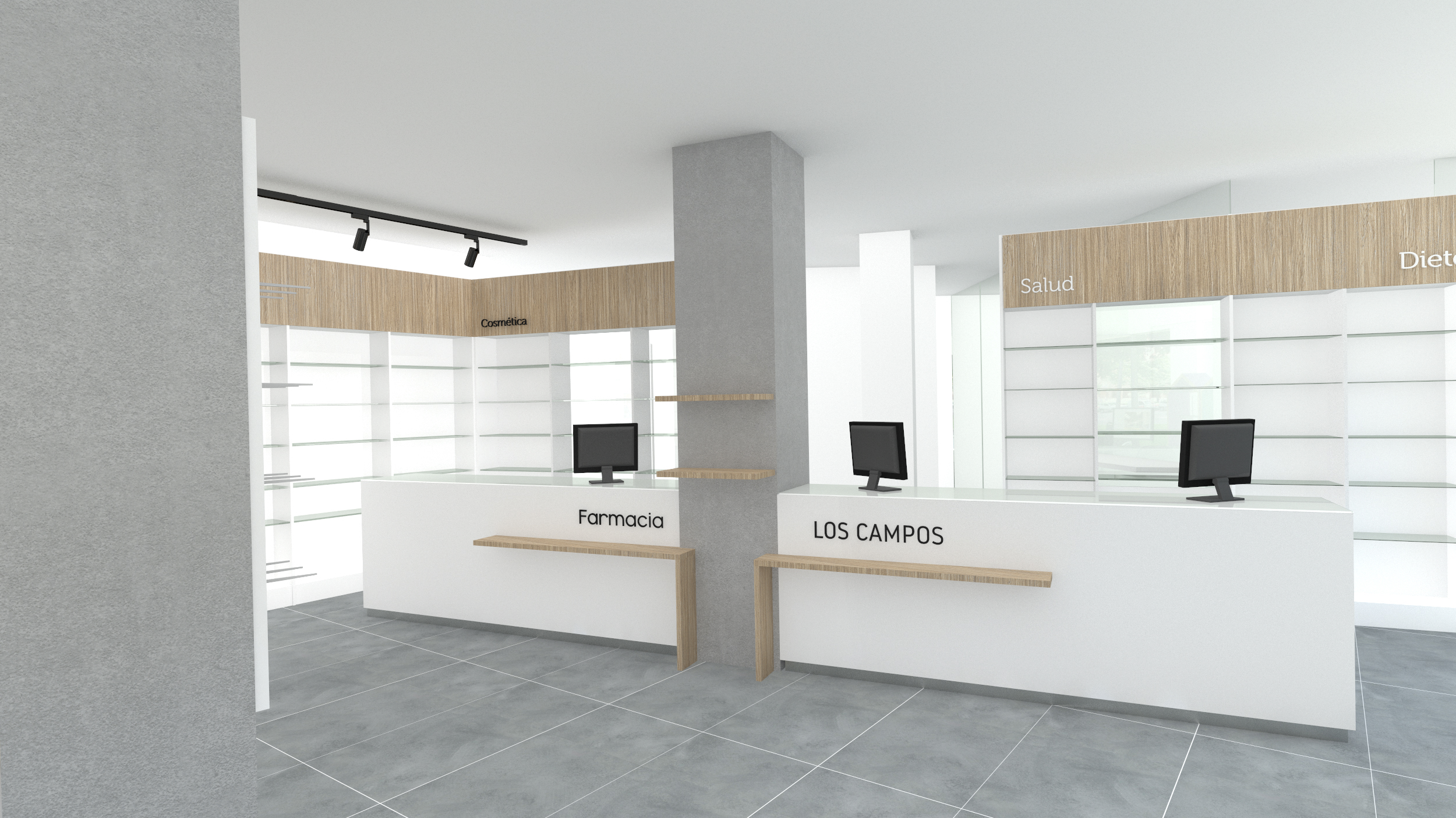 Diseño libreria papeleria